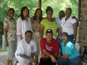 Pastor Camelia with NOLA Pastors and Spouses at Post-Traumatic Stress Retreat
