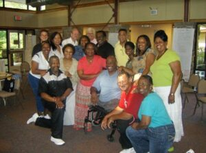 Pastor Camelia and NOLA Pastors and Spouses at Retreat